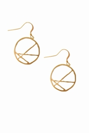 Joy Susan Circle Earring - Product Mini Image