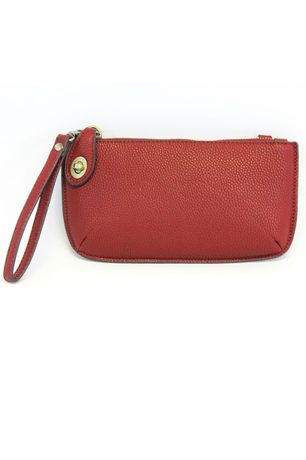 Joy Susan Crossbody Wristlet Clutch - Front Cropped Image