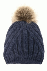 Joy Susan Diagonal Knit Hat - Product Mini Image