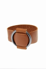 Joy Susan Leather Ring Bracelet - Product Mini Image