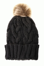 Joy Susan Pom Knit Hat - Product Mini Image