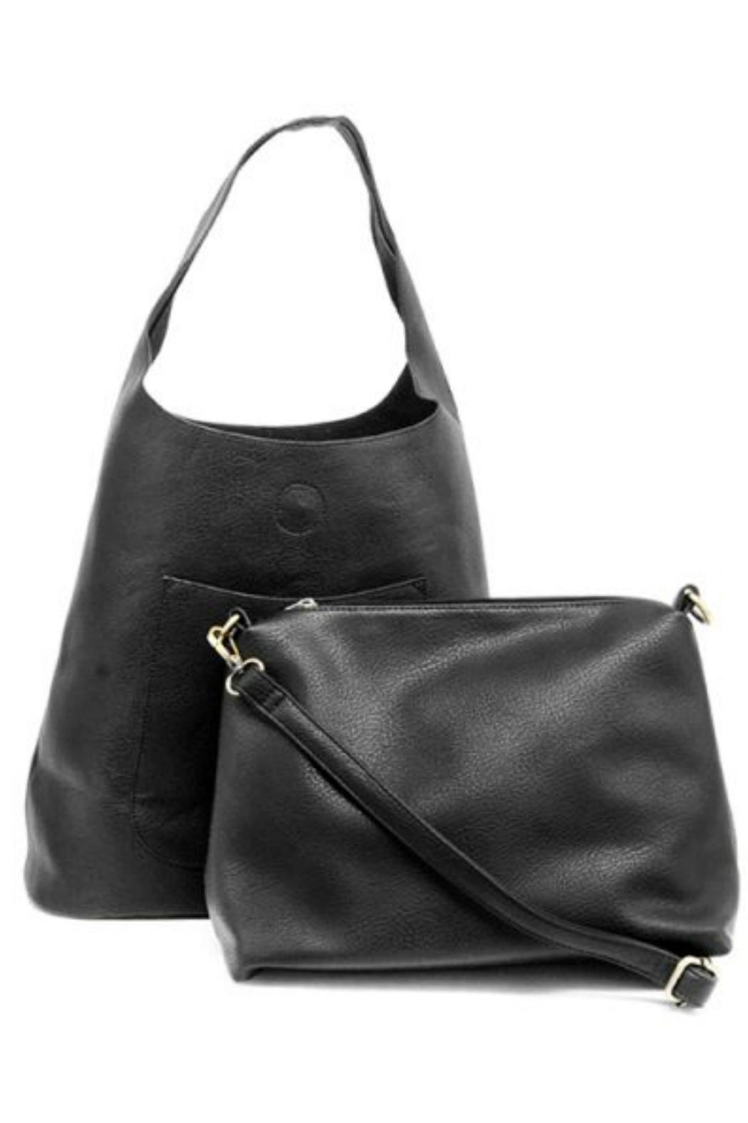 Joy Susan Slouchy Hobo Handbag - Side Cropped Image