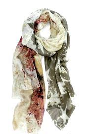 Joy Susan Accessories American Flag Scarf - Front cropped