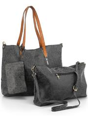 Joy Susan Accessories Brushed 2-In-1 Tote - Product Mini Image