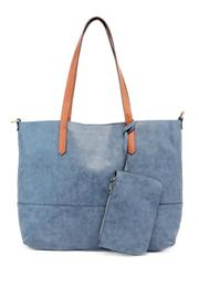 Joy Susan Accessories Brushed Tote Bag - Product Mini Image