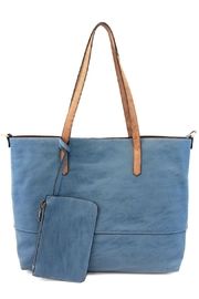 Joy Susan Accessories Brushed 2in1 Tote - Front cropped