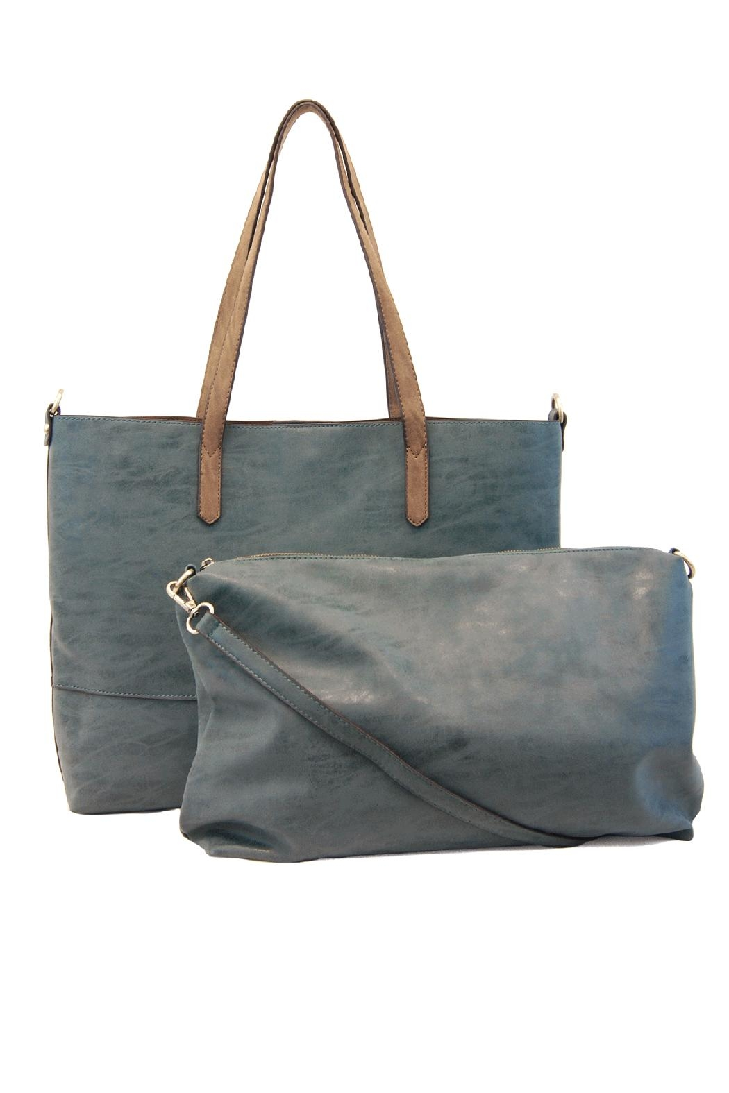Joy Susan Accessories Brushed 2in1 Tote - Side Cropped Image