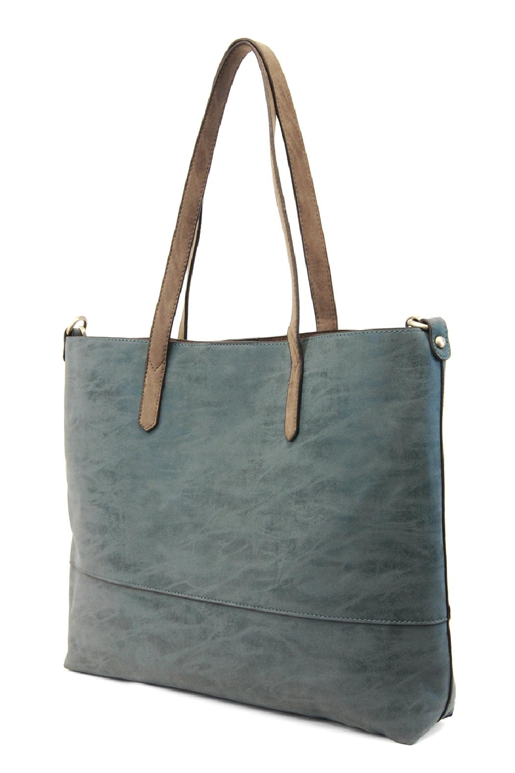 Joy Susan Accessories Brushed 2in1 Tote - Front Full Image