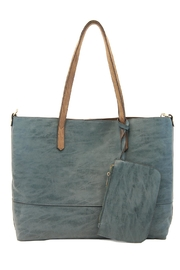 Joy Susan Accessories Brushed 2in1 Tote - Product Mini Image