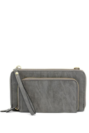 Joy Susan Accessories Brushed Wristlet Clutch - Product Mini Image