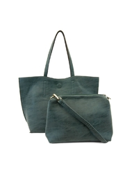 Joy Susan Accessories Carly Reversible Tote - Front cropped