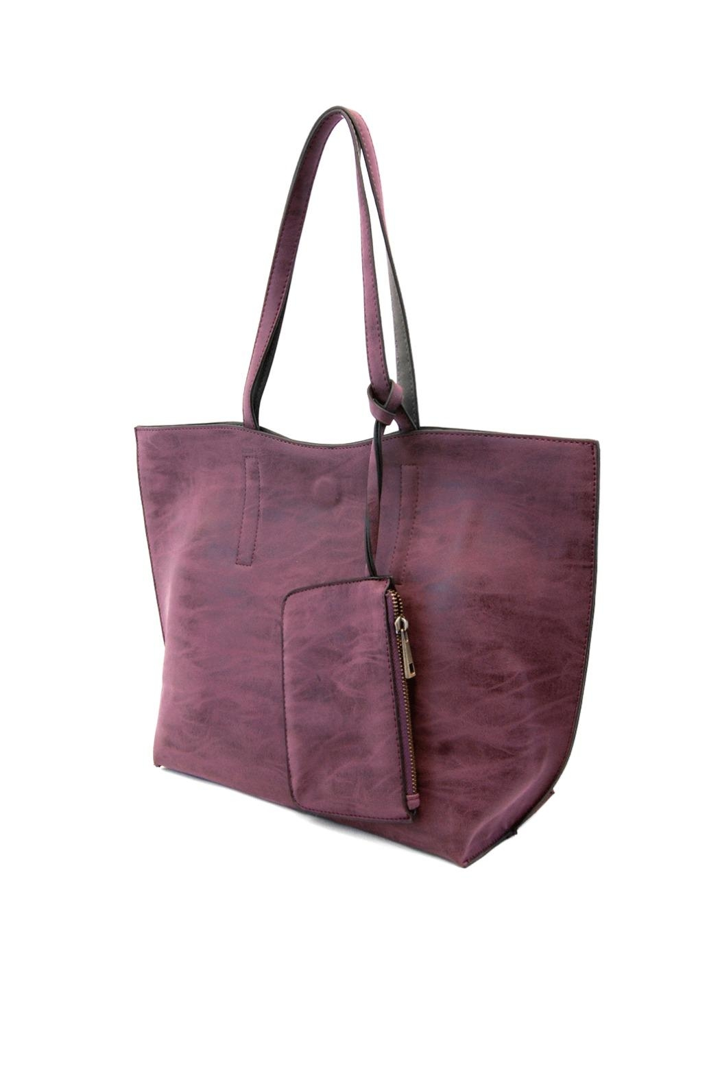 Joy Susan Accessories Carly Reversible Tote - Front Cropped Image