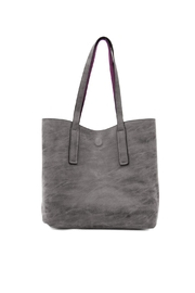 Joy Susan Accessories Carly Reversible Tote - Front full body
