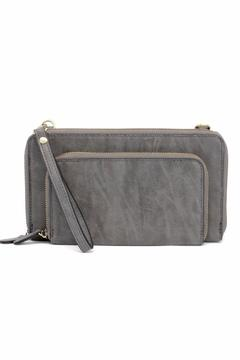 Shoptiques Product: Charcoal Convertible Crossbody