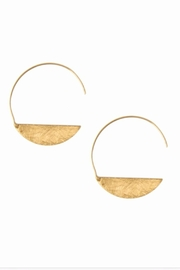 Joy Susan Accessories Crescent Earrings - Front cropped