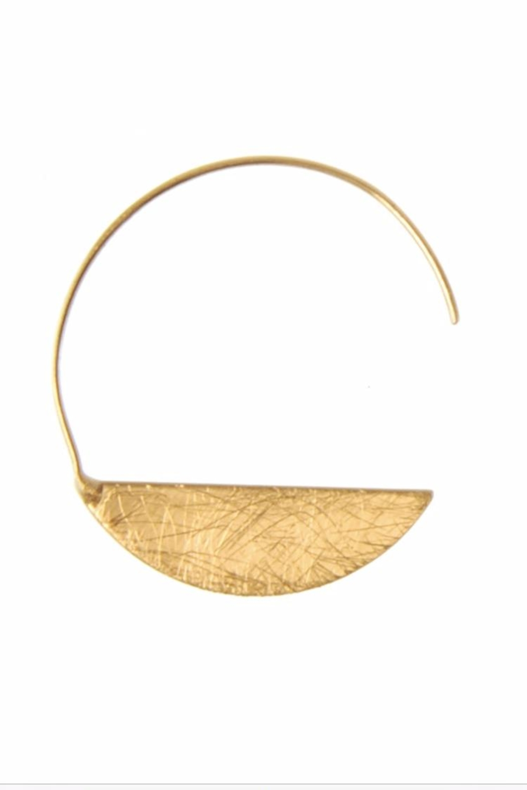 Joy Susan Accessories Crescent Earrings - Front Full Image