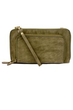 Shoptiques Product: Distressed Wristlet Crossbody