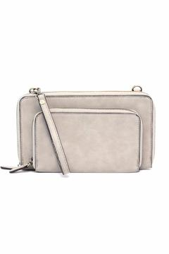 Shoptiques Product: Grey Convertible Crossbody