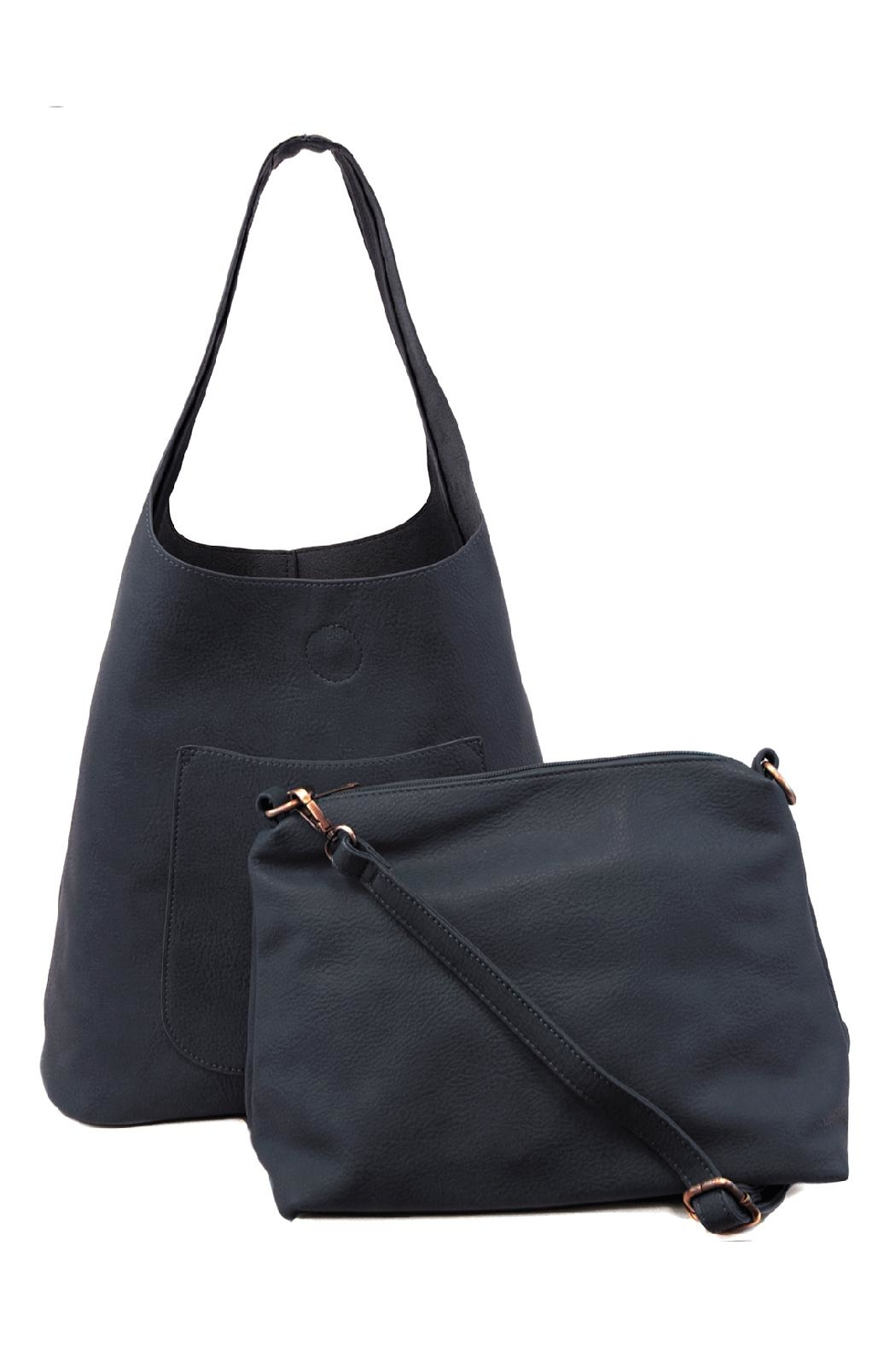 Joy Susan Accessories Molly Slouchy Hobo - Front Full Image