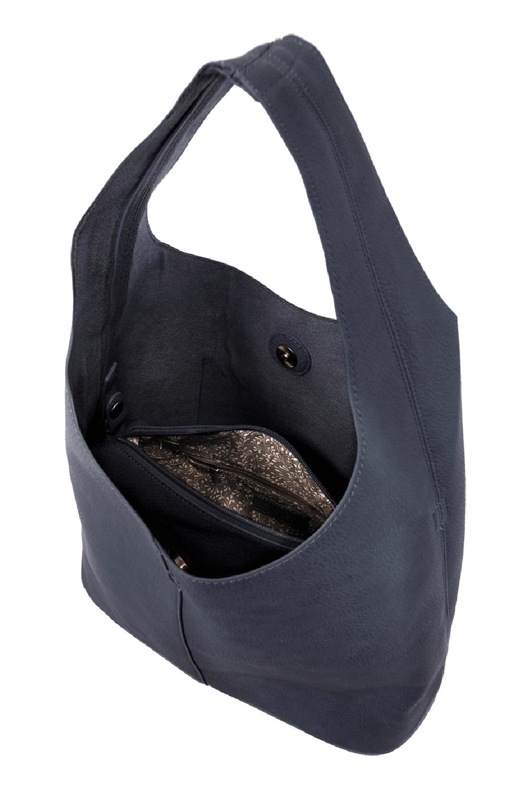 Joy Susan Accessories Molly Slouchy Hobo - Back Cropped Image