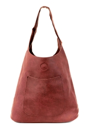 Joy Susan Accessories Molly Slouchy Hobo - Front cropped