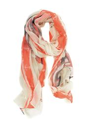 Joy Susan Accessories Nautical Anchor Scarf - Front cropped