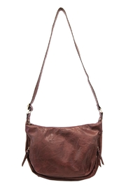 Joy Susan Accessories Vegan Distressed Hobo - Front cropped