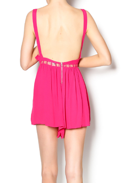 Joyce Pink Cover Up Romper - Alternate List Image
