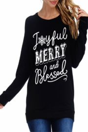 Zutter Joyful Merry and Blessed - Product Mini Image