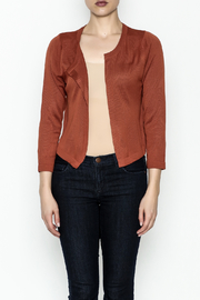 JoyJoy Cropped Cardigan - Front full body