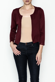 JoyJoy Cropped Cardigan - Front cropped