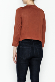 JoyJoy Cropped Cardigan - Back cropped