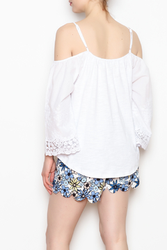 JoyJoy Embroidered Sleeve Top - Alternate List Image