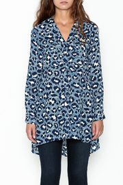 JoyJoy Leopard Tunic - Front full body