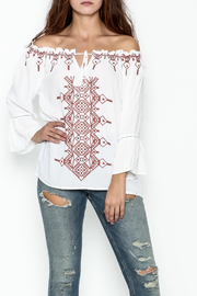 JoyJoy Peasant Top - Front cropped