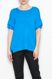 JoyJoy Ruffle Sleeve Tops - Product Mini Image