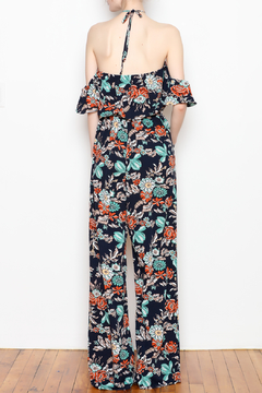 JoyJoy Ruffles Halter Jumpsuit - Alternate List Image