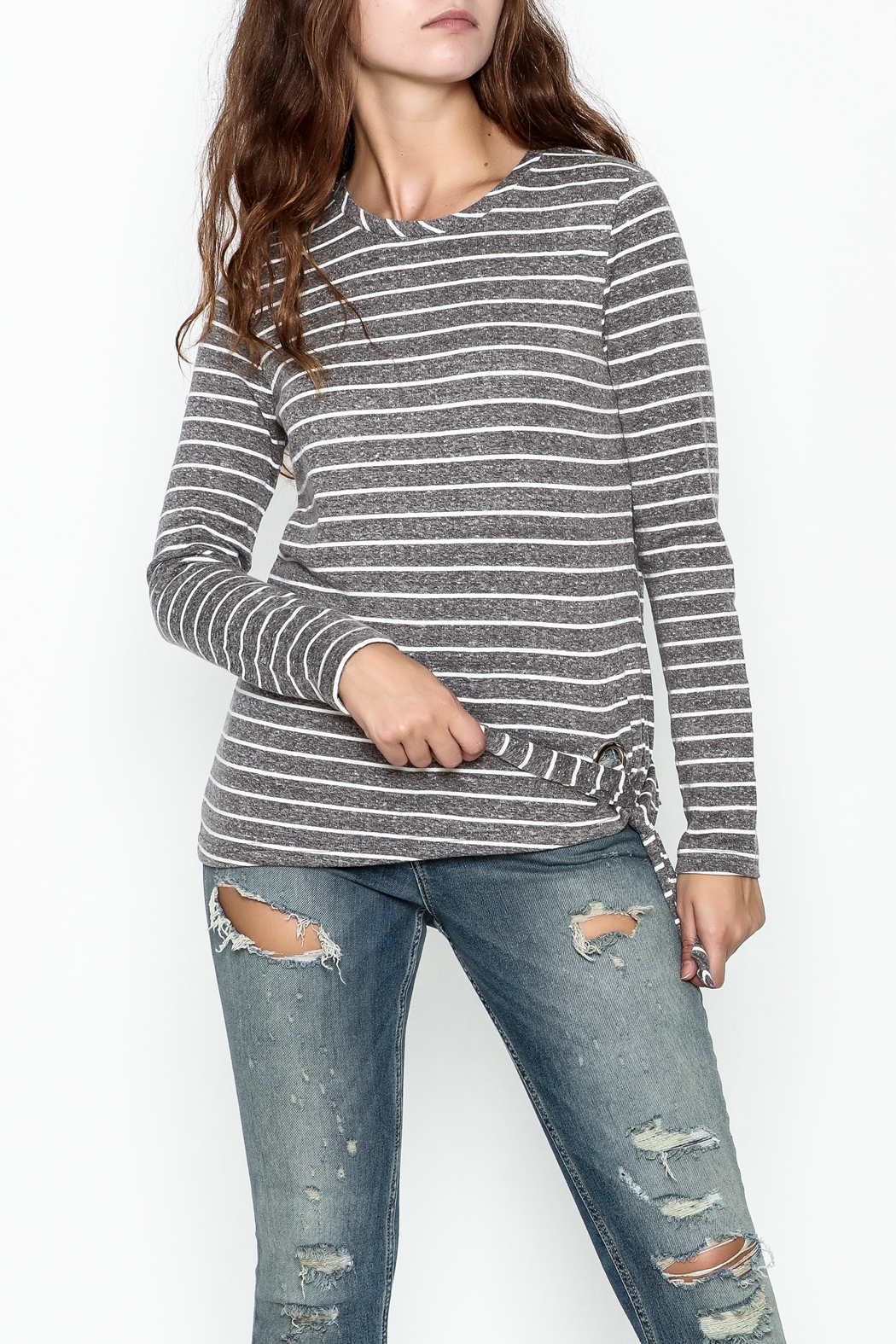 JoyJoy Striped Top - Main Image
