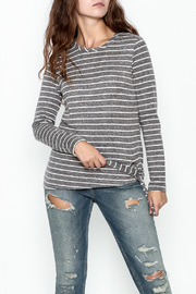 JoyJoy Striped Top - Front cropped
