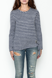 JoyJoy Striped Top - Front full body