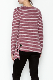 JoyJoy Striped Top - Back cropped