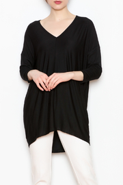 JoyJoy V-Neck Tunic - Front full body
