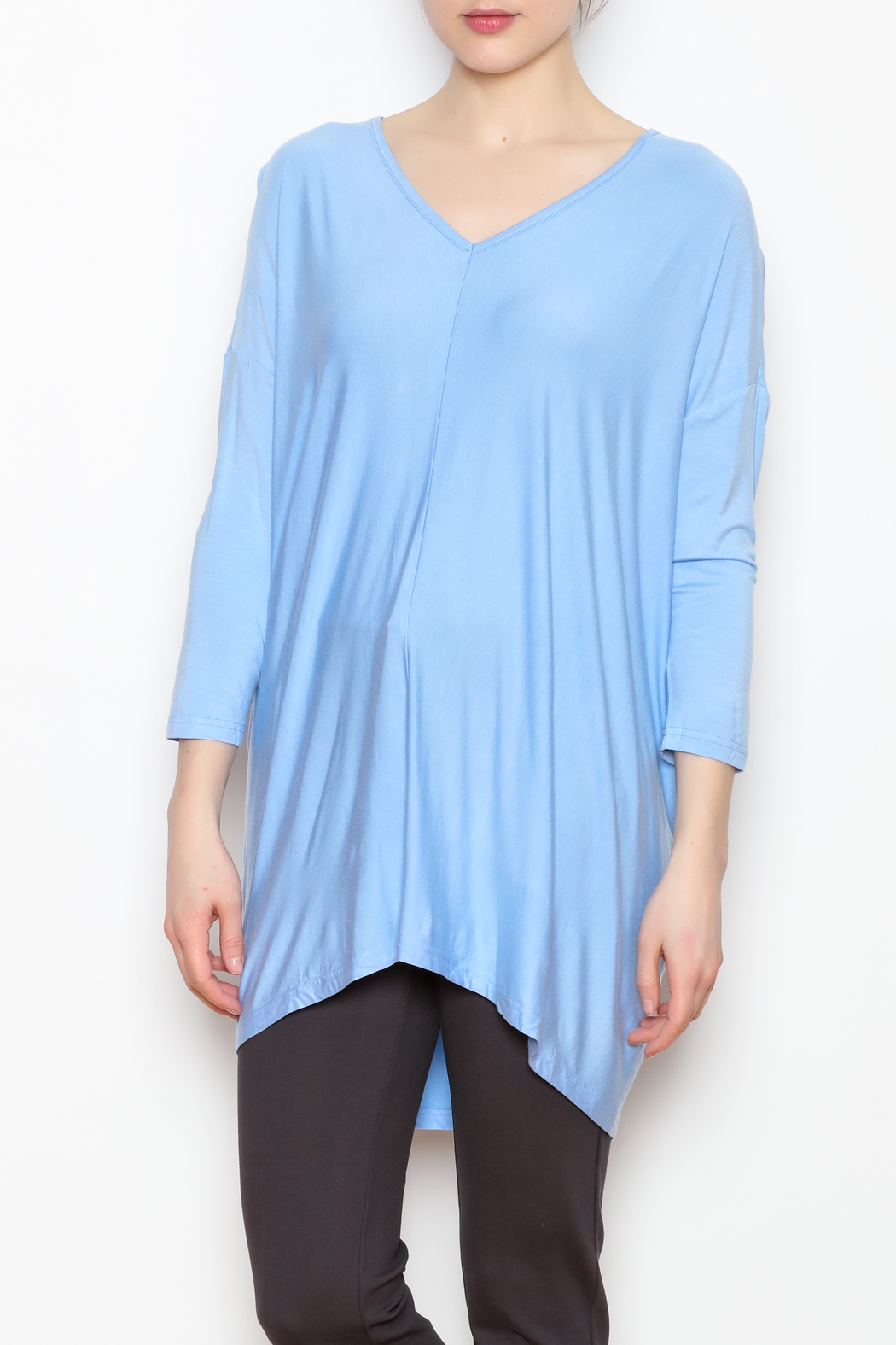 JoyJoy V-Neck Tunic - Main Image