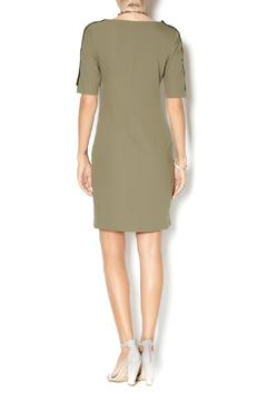 Shoptiques Product: Short Sleeve Fitted-Dress