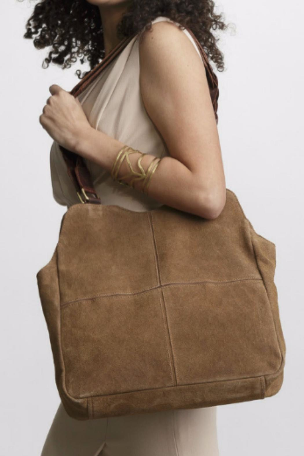 JOYN INDIA Suede Boho Bag from Kentucky by Picket Fence — Shoptiques 70b953a12e