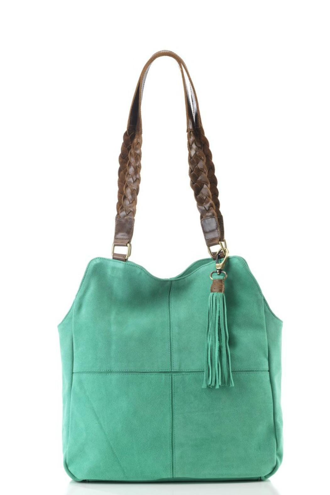 1d4a454257fe JOYN INDIA Suede Boho Bag from New Hampshire by Prelude — Shoptiques