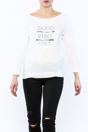 Joyous Ride White Long Sleeve Top - Product Mini Image