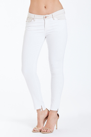 Dear John Joyrich Ankle Skinny in White Mocha - Product Mini Image