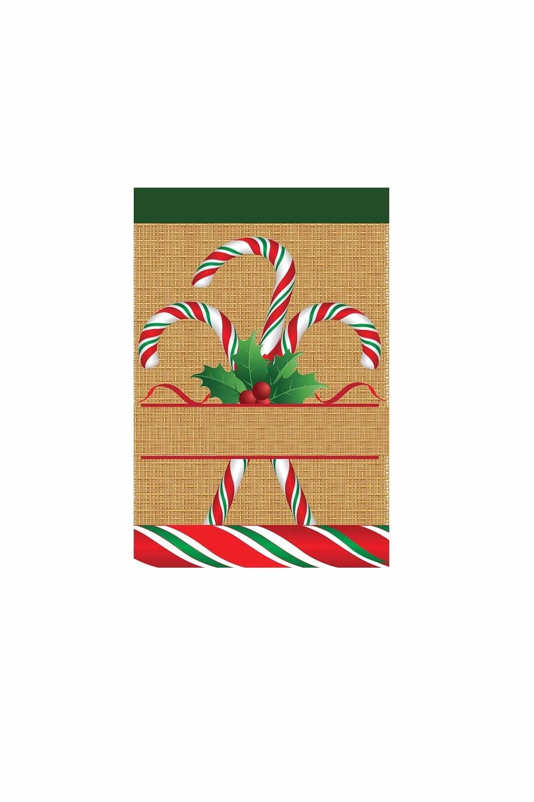 Jozie B Candy Cane Flag - Main Image