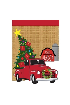 Jozie B Christmas Truck Flag - Product List Image